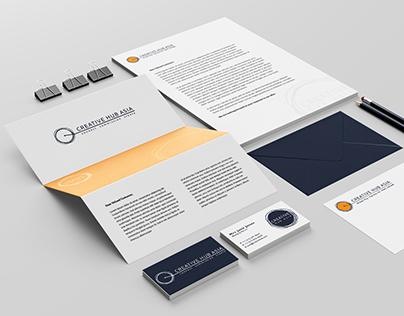 Brand Identity: CREATIVE HUB ASIA