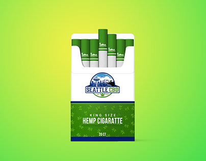 Cigarette Box Mockup Free download