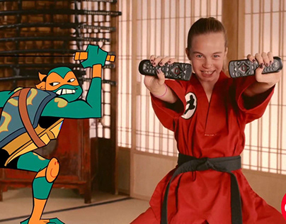Rise Of The Teenage Mutant Ninja Turtles, Dish Promo