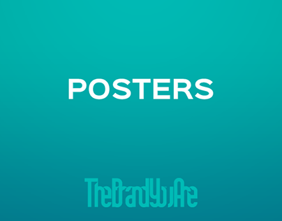[ Gallery ] POSTERS