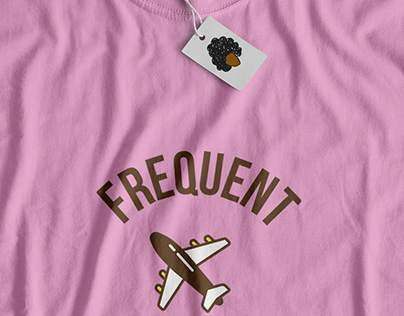 Frequent Flyher T-Shirt Design