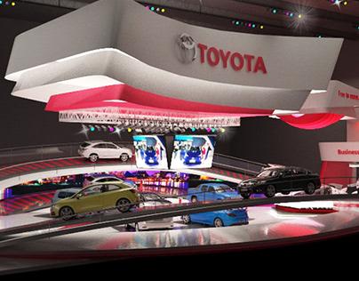 TOYOTA Salon del automovil 2018 (propuesta)