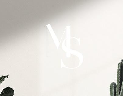 Maris Saar visual identity