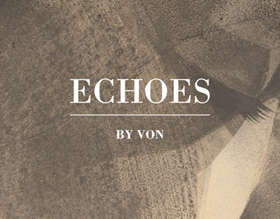 Echoes — new London solo show at StolenSpace Gallery.