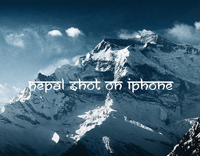 Nepal Shot with an iPhone