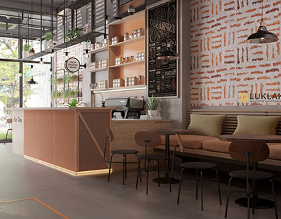 Coffee industrial style
