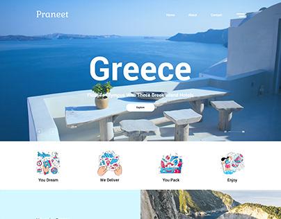 UI UX - Travel Tourism Website