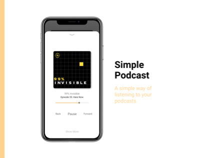 Simple Podcast Concept