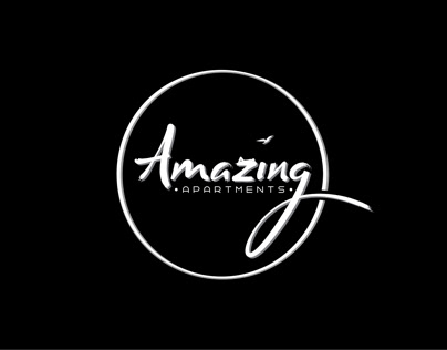 Amazing apartments design logo brandbook art studio