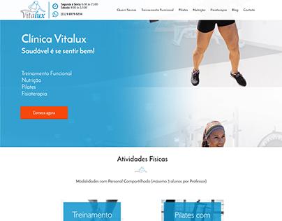 Site - Clínica Vitalux