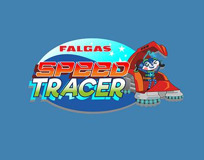 Logo e Intro del Videojuego Speed Tracer