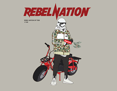 REBEL NATION Collection for Tobi Streetwear