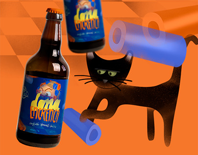 Dona Encrenca // Beer Label