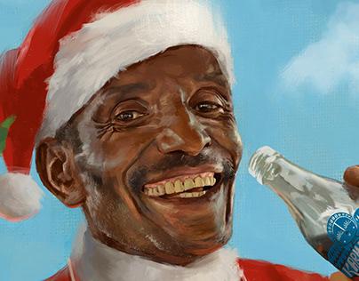 Karma Cola Christmas Poster