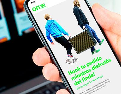 Diseño de Identidad — Ofiya!