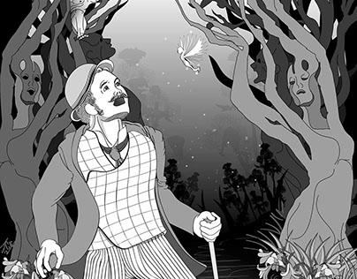 Phantastes - Shoreline of Infinity Bk5 Illustration