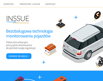 Inssue website