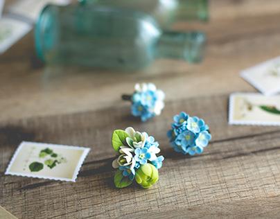 Summer flower jewelry