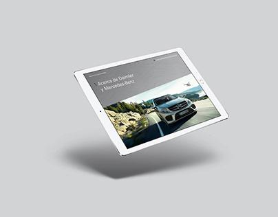 Reporte de sustentabilidad Mercedes Benz