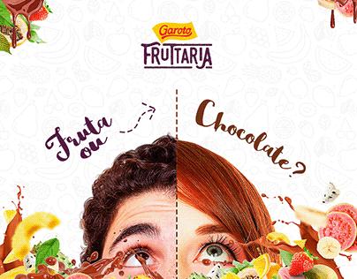 Garoto/Fruttaria - Social Media