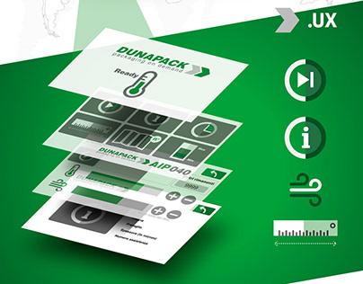 DUNAPACK - brand identity - 3D Render - UX