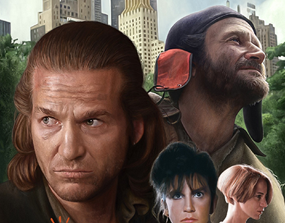 The Fisher King, Alternative Movie Poster for AMP