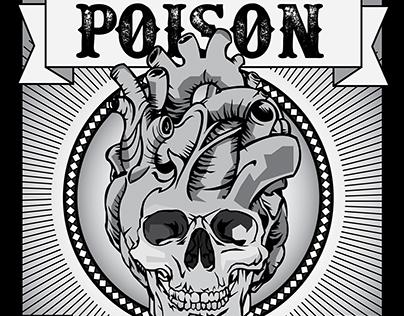 Rock Music Poster Art