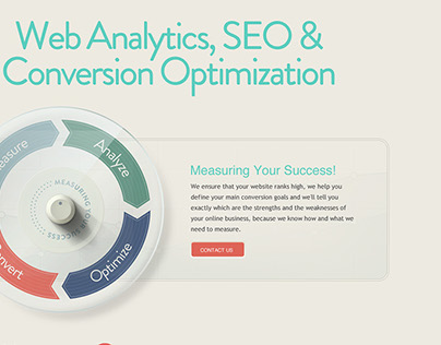 Optimized Metrics Web Site