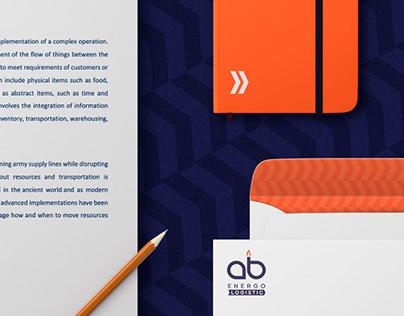 AB Energy Logistic brand identity