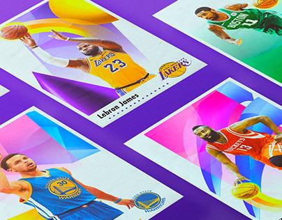 NBA SUPERSTARS | Poster Series