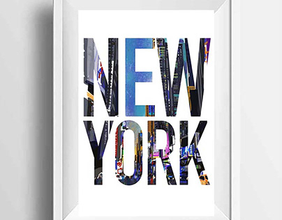 New York Art Print by Marian Nixon Paintings