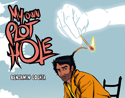 "Lettering + Sequential art - ""My own plot hole"""
