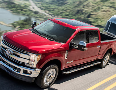 2017 Ford SuperDuty CGI and Retouching