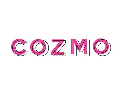 COZMO Restaurant Brand Identity