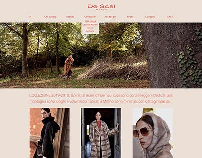 De Scal, web design