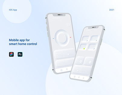 Mobile app for smart home control