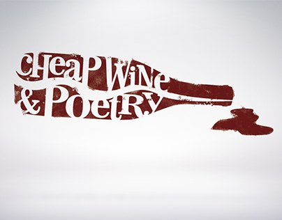 Cheap Wine & Poetry (Logo)