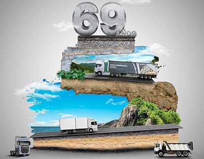 Scania Perú 69 años