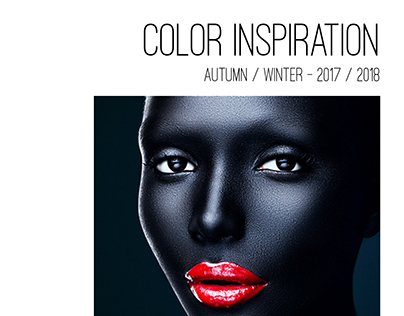 (Mock) TOBE REPORT: Color Inspiration - A/W 17/18
