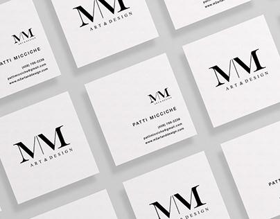 M|M Art & Design Branding