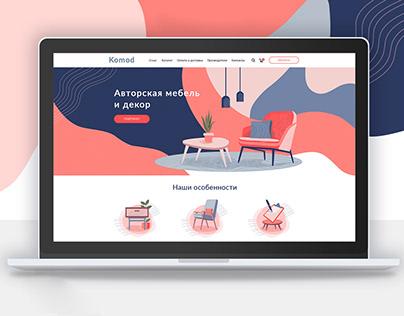 Web site Komod