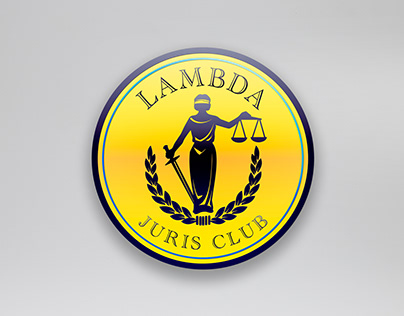Logo design (Lambda Juris club)