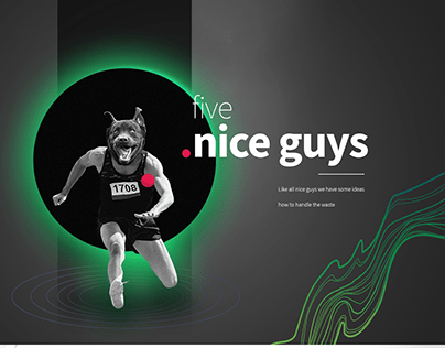 Nice Guys - UI design