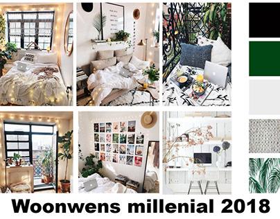 Woonwens millenial 2018 | lifestyle&media