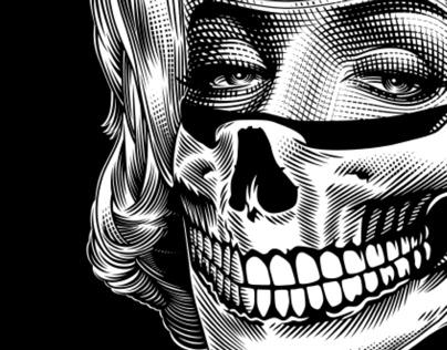 Marilyn Bandit design