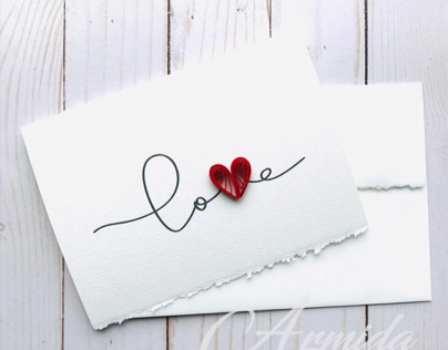 Happy Valentine's Day Greeting Cards. Collection 2020