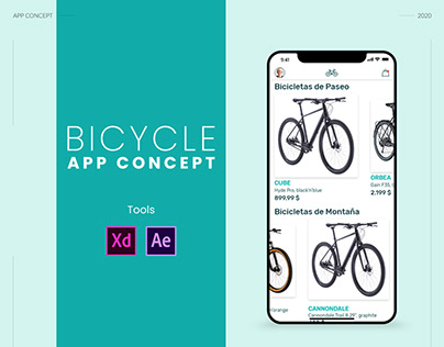 App Concept | Bicycle