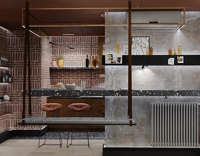 Interior design - design project MOYA KRAINA
