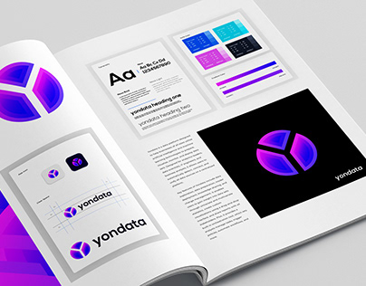 Yondata - Data Analysis Logo Branding