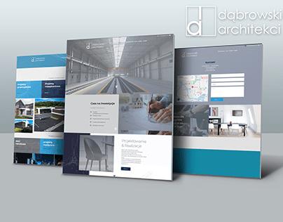 Strona internetowa - Dąbrowski Architekci